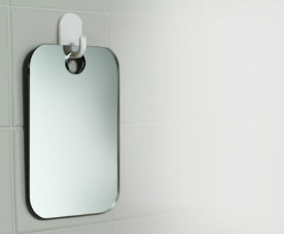 how to shave in the shower with a fogless shaving mirror hix magazine everything for men. Black Bedroom Furniture Sets. Home Design Ideas