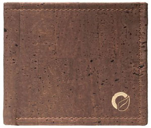 Corker Cork Slimfold Wallet For Men