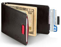 Distil Union Wally Bifold Slim Leather Wallet