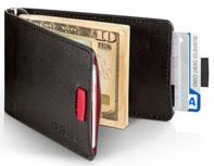 Distil Union Wally Bifold Slim Leather Wallet