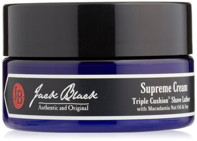 Jack Black: Supreme Triple Cushion Shave Cream