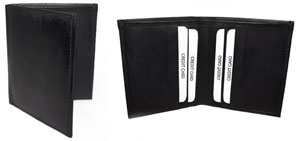 Leatherboss Men's Slim And Small Bifold Wallet