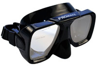 Optical mask dark blue