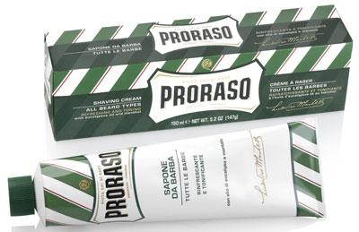 Proraso: Eucalyptus and Menthol Shaving Cream