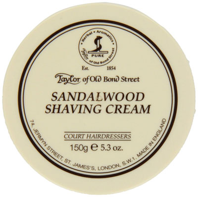 Taylor of Old Bond Street: Sandalwood Shaving Cream Bowl
