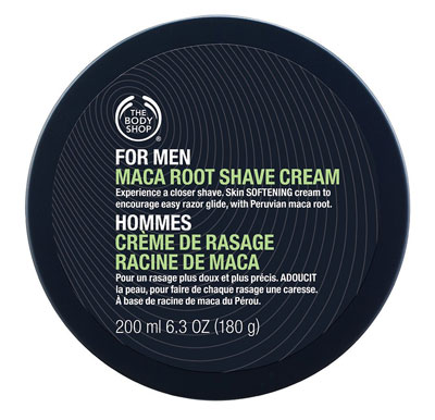 The Body Shop For Men: Maca Root Shave Cream