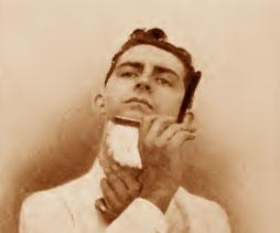shaving the chin