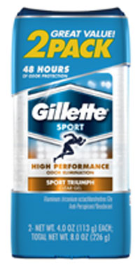 Gillette Clear and Refreshing Gel Sport Antiperspirant & Deodorant