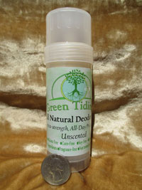 Green Tidings All Natural Deodorant Unscented