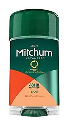 Mitchum Anti-Perspirant & Deodorant Clear Gel, Sport