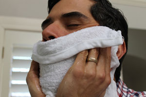 Softening your facial hair