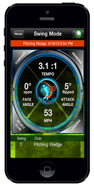 SwingSmart Duo Golf Analyzer app