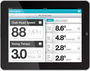 Swingbyte 2 Golf Training Device app