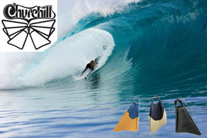 churchill-fins-wave