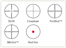 reticles examples