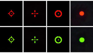 red dot reticles at night