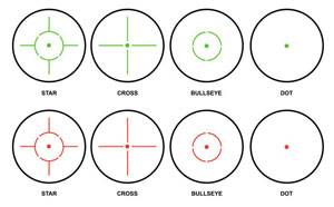 red dot reticles