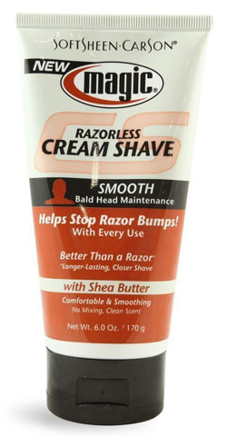 Softsheen Carson Magic Razorless Smooth Shave Cream for Men