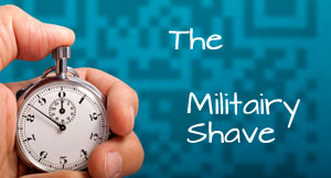 militairy shave