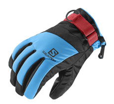 short cuffs ski glove