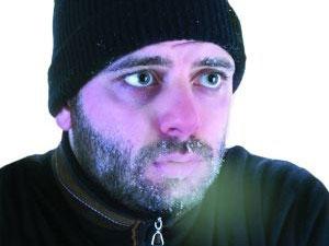 freezing cold man