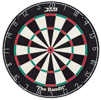 DMI Bandit Staple-free Bristle Dartboard