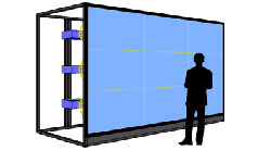 rear projection screen Shop our huge selection of rear projection screens at fullcompasscom free shipping on thousands of items.