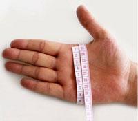 boxing glove measure