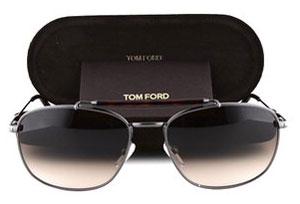 Tom Ford Marlon TF0339 Sunglasses Matte Gunmetal 09F