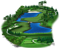 golf course distances