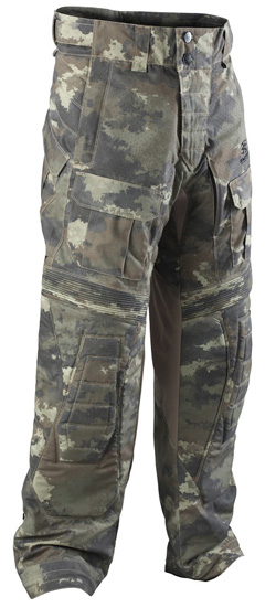 Lower body protection paintball
