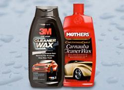 car wax to polish scratches