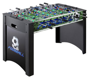 Hathaway Playoff Soccer Table, Black Green, 4-Feet