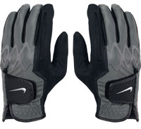 Nike Men's All Weather II Regular Black Golf Gloves