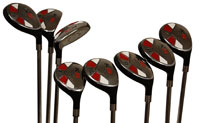 Senior Men's Majek Golf All Hybrid Complete Full Set