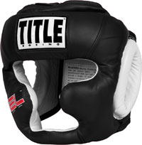 TITLE Gel World Full-Face Training Headgear