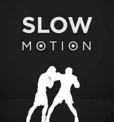 slow motion sparring