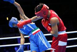 sparring knockout