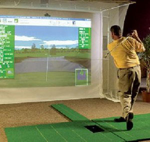 Build a Home indoor Golf Simulator