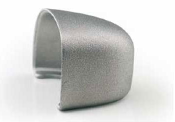 Aluminum safety toe cap