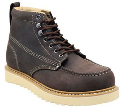 Golden Fox Men's Premium Leather Soft Toe Light Weight Industrial Construction Moc Work Boots Insulated