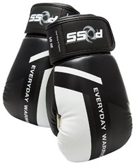 POSS EWU Collection Leather Boxing Gloves Kickboxing