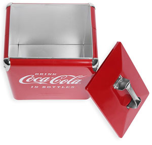 Classic Picnic Coolers - Coca-Cola top view