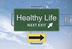 healthy life road exit