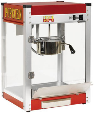 Paragon TP-4 Theater Pop 4-Ounce Popper Popcorn Machine
