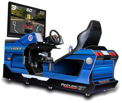Racing Simulator Machine by Chicago Gaming - Redline GT