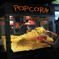 large-movie theater popcorn-machine