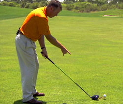 proper stance for a driver swing
