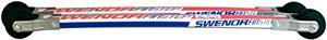 Swenor Finstep Cap Classic Roller Ski Bundle with NNN Bindings & Splashguards