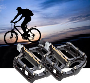 solutions for slippery bike pedals